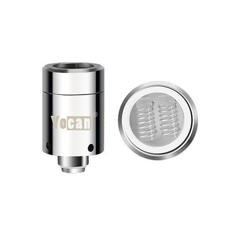 Yocan Loaded Quartz Dual Coils 5's Pack
