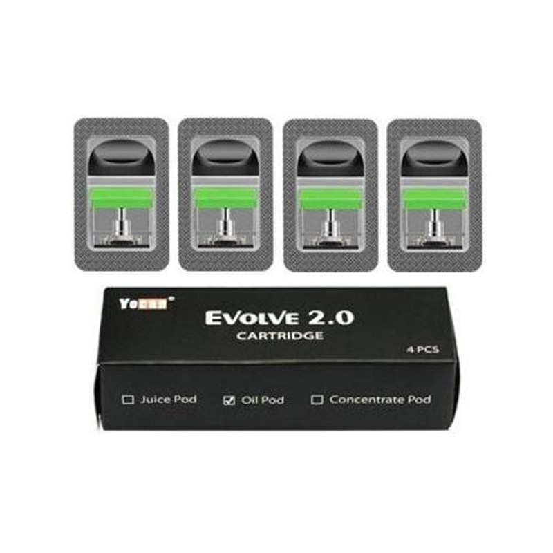 Yocan Evolve 2.0 Pods 4's Pack - CBD Oils