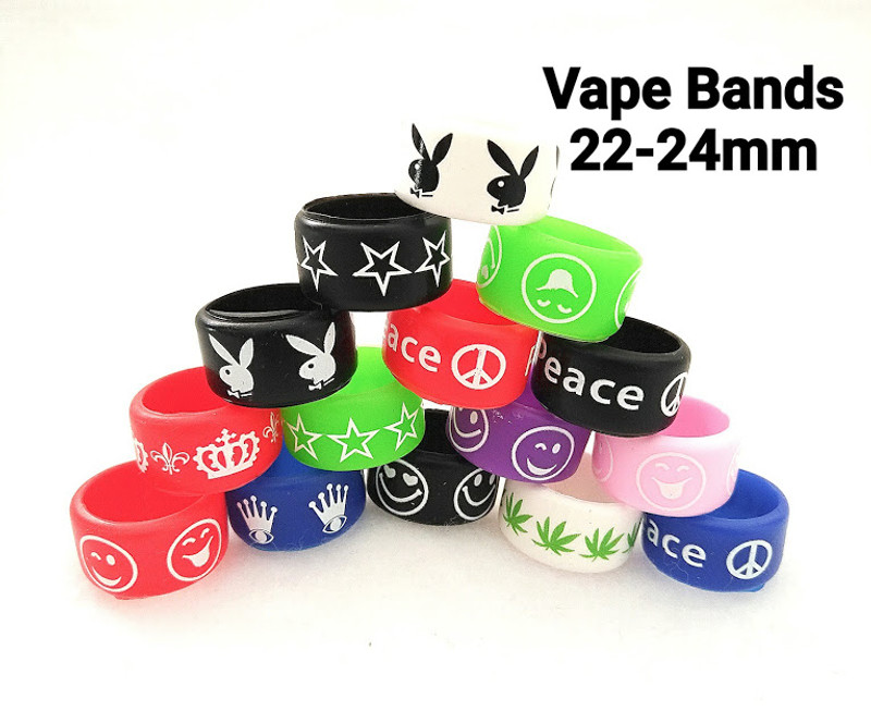 Vape Bands - Cool Designs 22-24mm