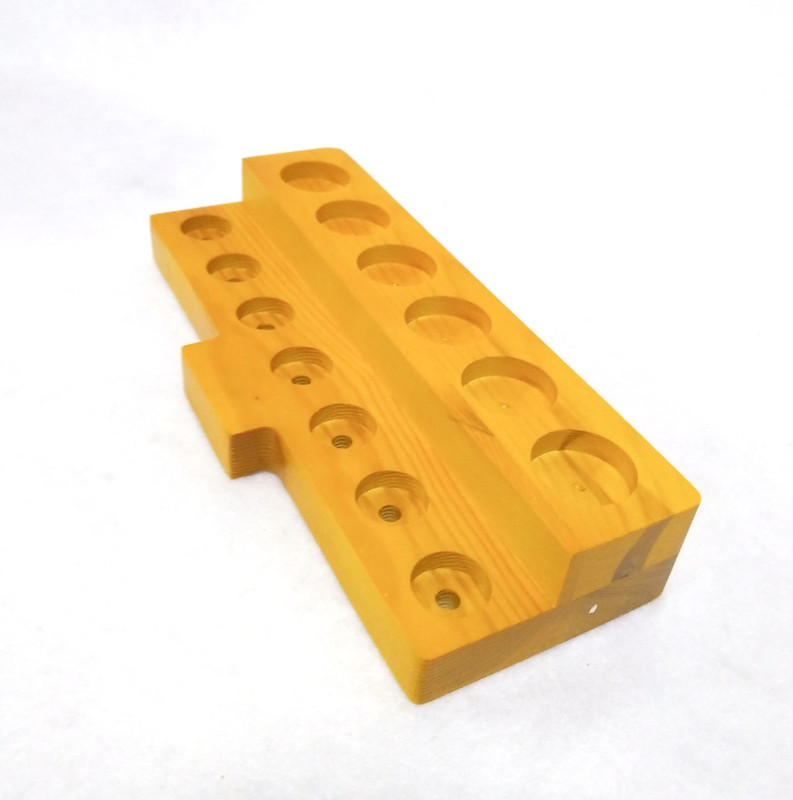 Atomizer Stand For Tanks, Wood...New!
