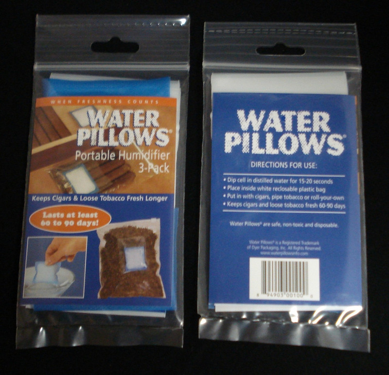 Water Pillows - Dry 3's Packs