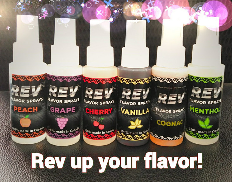 REV Flavor Sprays 60ml...New and Improved!