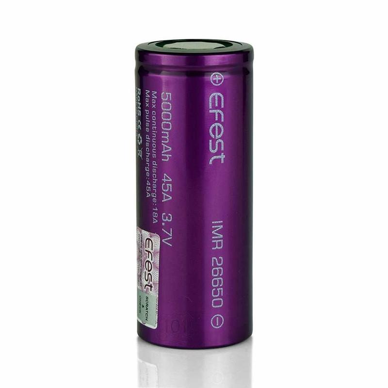 Efest Battery 22650 - 5000 mAh, Single Unit