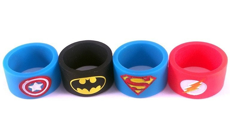 Vape Bands - Super Hero Designs 24mm