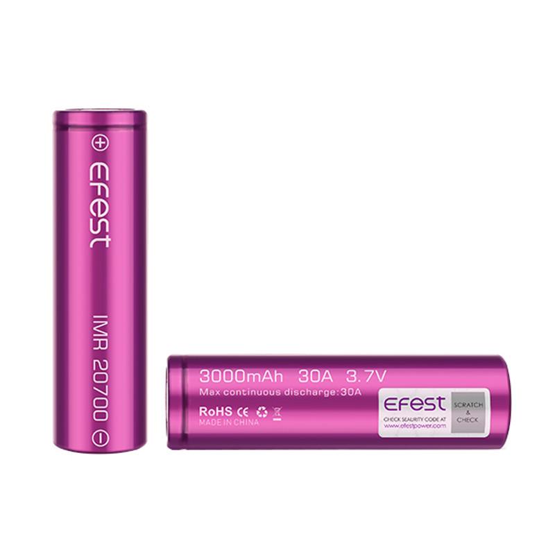Efest Battery 20700 - 3000 mAh, Single Unit...Sale!