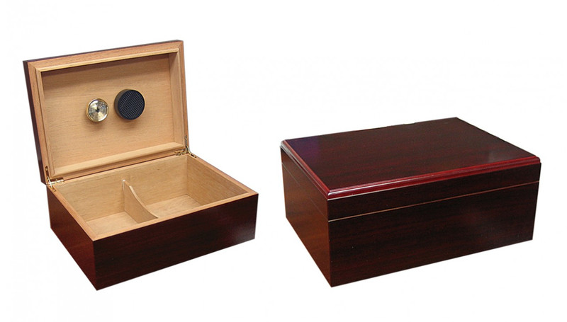 Humidor - The Executive Cherry Finish 50-75 Count
