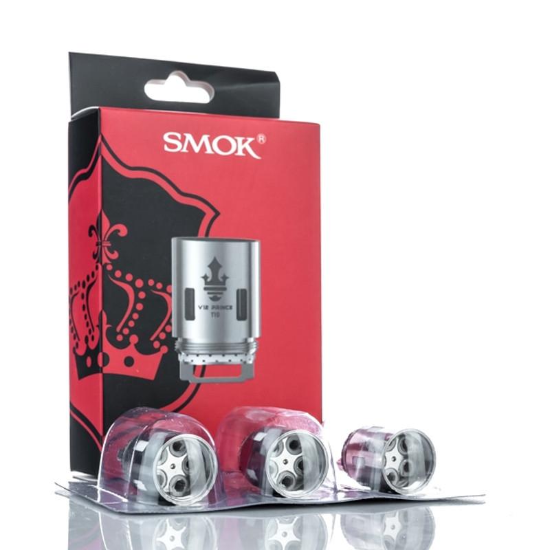 Smok TFV12 Prince Coils 3's Packs (Assorted Ohms)