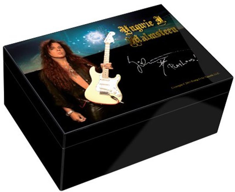 Humidor - Yngwie Malmsteen Ltd. Edition 50 Count...Sale!