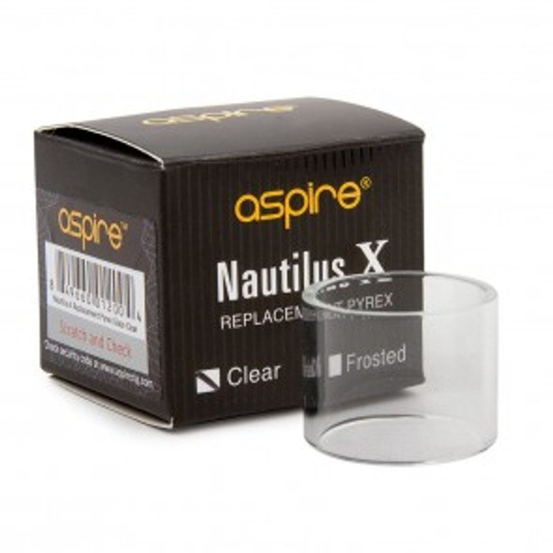 Aspire Nautilus X Replacement Glass - Clear
