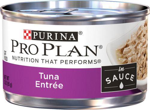 Pro Plan Savor Canned Cat Food Tuna Entree, 3oz