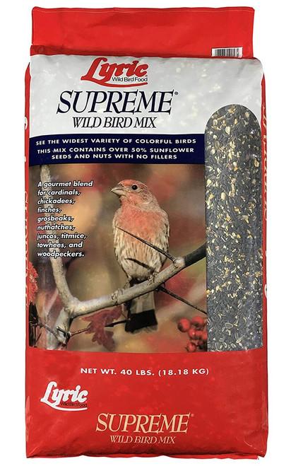 Lyric Supreme Wild Bird Food, 40 lb