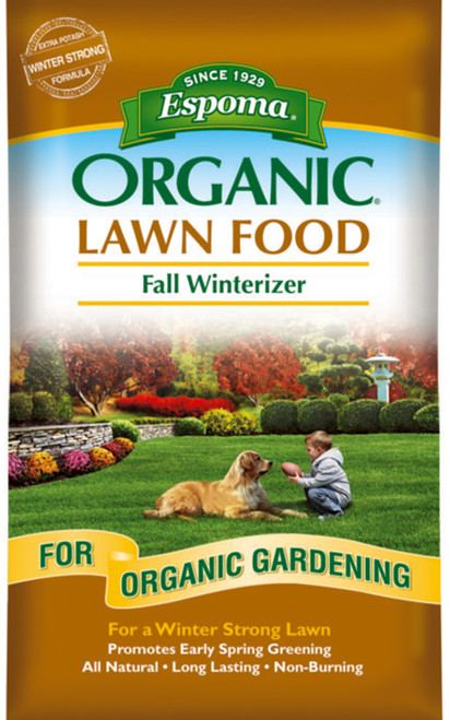Espoma Organic Lawn Food, Fall Winterizer - 5,000 Square Feet