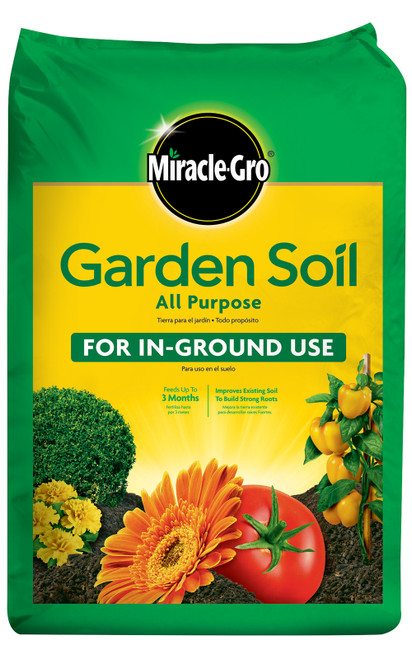 Miracle-Gro All Purpose Garden Soil, 1 Cubic Foot