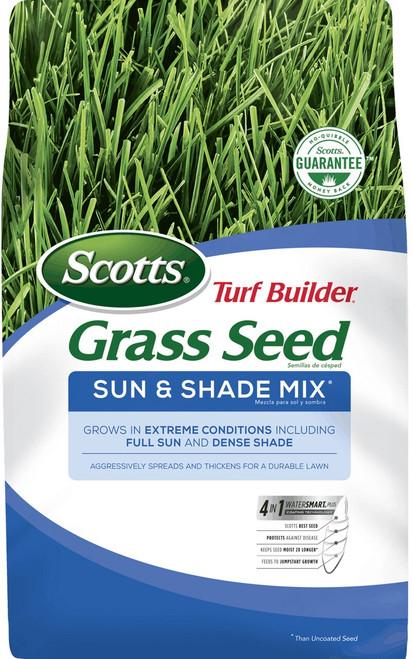 Scotts Turf Builder Grass Seed Sun & Shade Mix, 7 lb