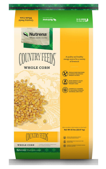 Nutrena Country Feeds Whole Corn, 50 Lb