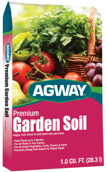 Agway Premium Garden Soil, 1 Cubic Foot