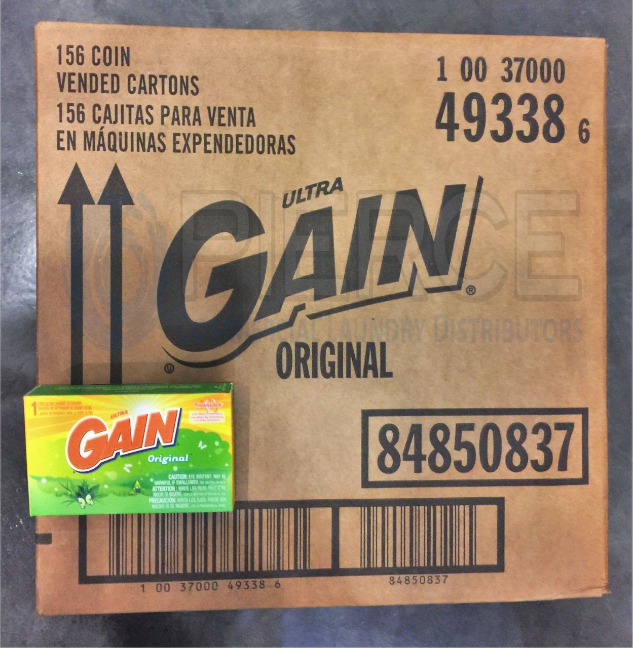 Gain® Laundry Detergent Coin Vend