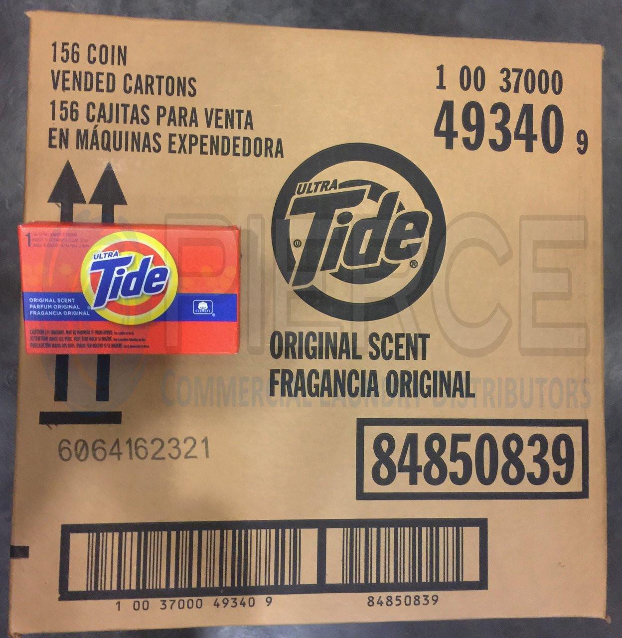 Tide® Powder Laundry Detergent Coin Vend