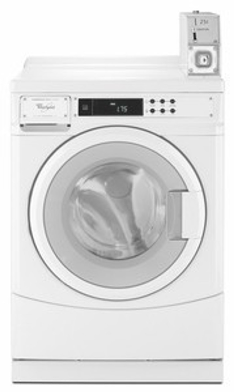 Whirlpool CHW8990AW - Whirlpool Commercial High Efficiency Front-Load Washer