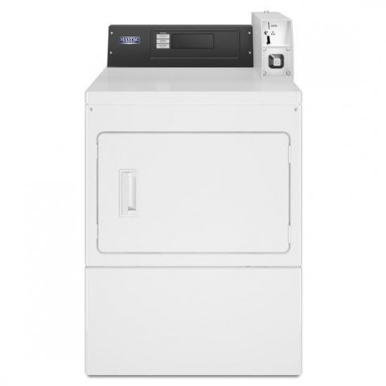 Maytag MDE20PD - Maytag Commercial Super-Capacity Electric Dryer Intelligent Controls - Coin Drop
