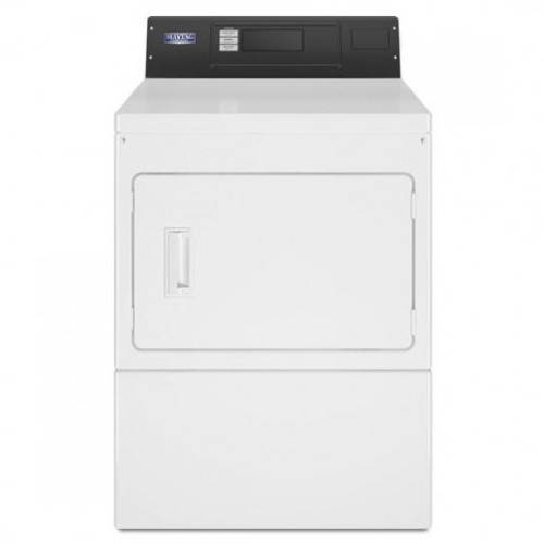 Maytag MDE20PR - Maytag Commercial Super-Capacity Electric Dryer With Microprocessor Controls - Card Reader Ready OR Non Coin