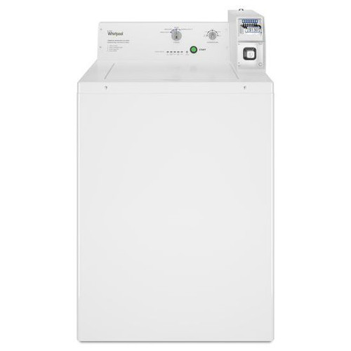 Whirlpool CAE2765FQ - Whirlpool Commercial Top-Load Washer, Coin-Ready
