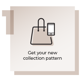 Step 1 Get Your New Collection Pattern