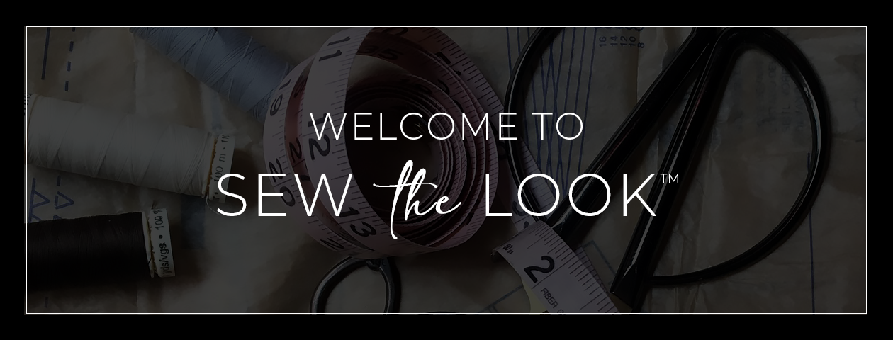 Welcome to Sew the Look. Our new maker showcase!