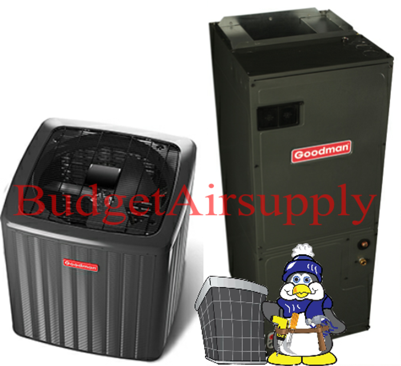 GOODMAN 5 Ton 16 seer Single Stage VARIABLE SPEED Complete A