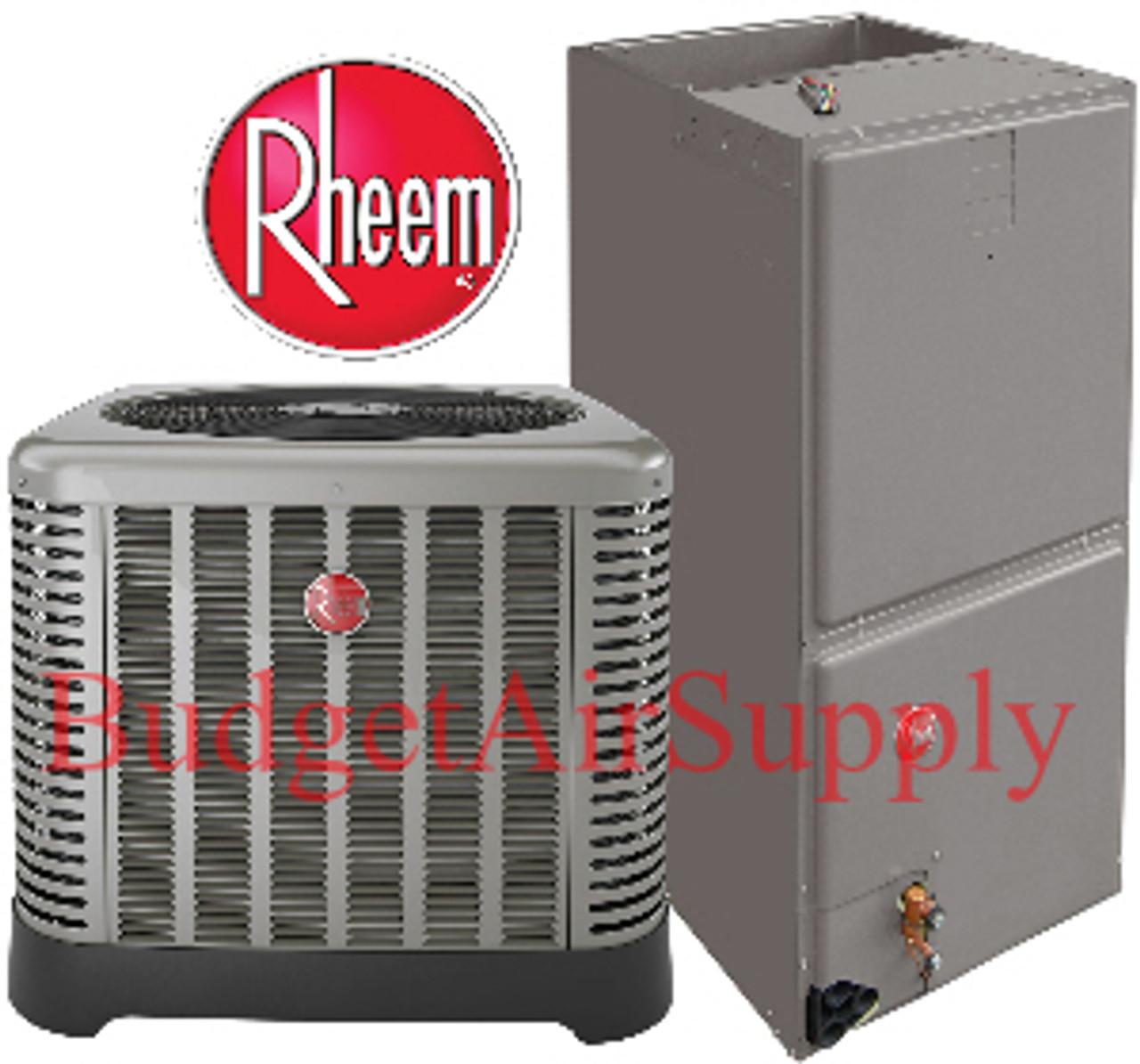 Rheem Ruud 4 Ton 16 Seer Air Conditioning System Ra1648aj1 Rh1t4821stanja