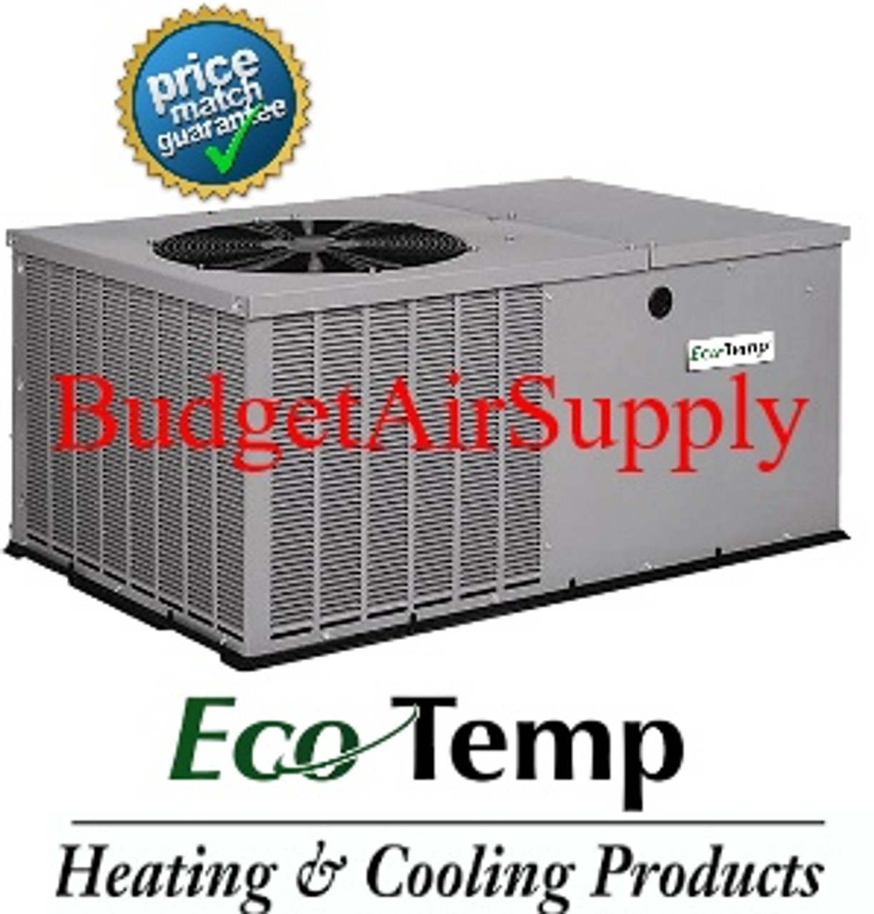 Icp Ecotemp Model 5 Ton 14 Seer A C Package Unit Budget Air Supply
