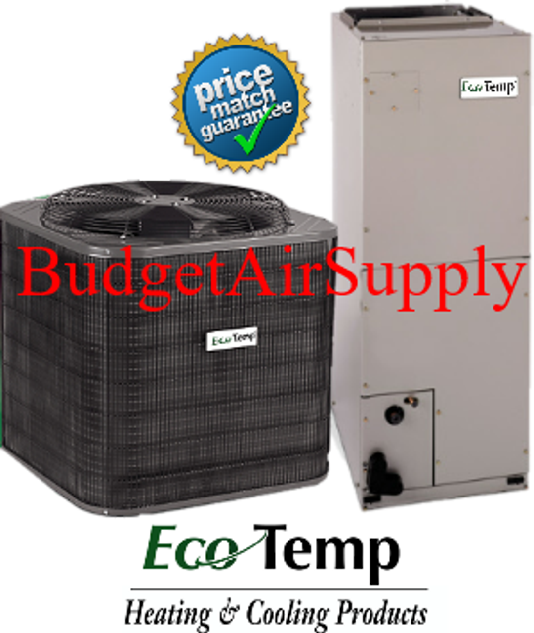 2 ton 14 seer EcoTemp A/C Split System Mobile Home Approved Mobile Home Upflow Hvac Units on hvac package units, ceiling mounted hvac units, horizontal hvac units, goodman hvac units,