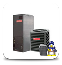 GOODMAN 2 Ton 16 seer Heat Pump Two Stage *Variable Speed* Complete A/C-Heat Pump System (GSZC160241+AVPTC31C14)