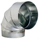 "12"" 90 Degree Adjustable Elbow - HVAC Ductwork Sheet Metal"