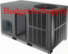 "Goodman 3 Ton 16 Seer  Heat Pump ""All in One"" Package unit Horizontal"