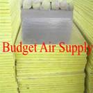 "30 Sheets R6 1.5"" Fiberglass Ductboard 10'x4'"