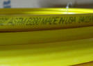 "1/2"" OD x 50 ft.COPPER YELLOW Plastic POLYETHYLENE Coated LP Propane Gas Tubing"