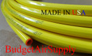 "1/2"" OD x 100 ft.COPPER YELLOW Plastic POLYETHYLENE Coated LP Propane Gas Tubing"
