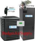 Atlantic Comfort 3 Ton 14 Seer Heat Pump Split System ACGSZ140361+ACARUF37C14 +TXV