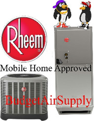 Rheem Air Conditioners/Electric Heat