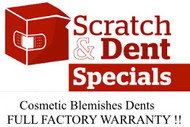 SCRATCH and DENT DISCOUNTS!!