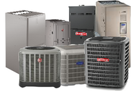 A/C Split Systems with ELECTRIC HEAT-Straight Cool