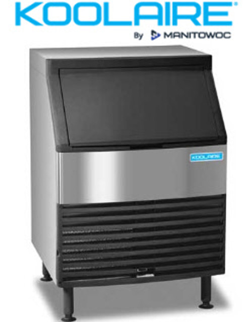 Manitowoc Koolaire Commercial Undercounter Ice Machine with Bin 258 lbs in 24 hours
