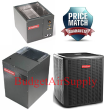 Goodman 5 Ton 15 SEER Air Conditioner GSX160601 Coil CAPF4961C6 100,000 BTU 96/% AFUE Downflow Gas Furnace GCSS961005CN