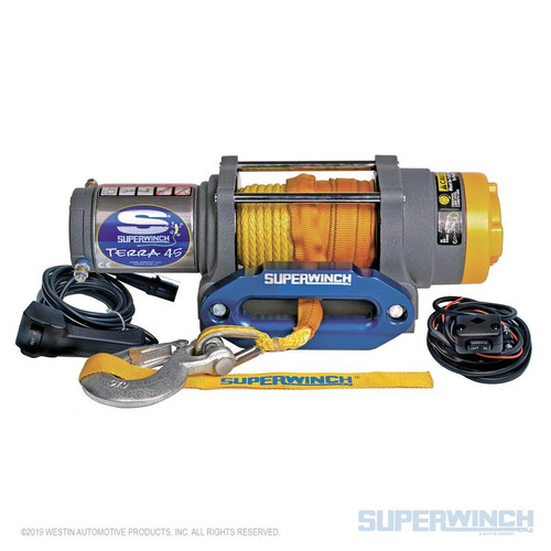 Superwinch Terra 45SR Winch with Synthetic Rope