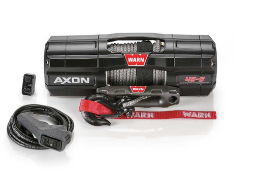 Warn AXON 45-S Powersports Winch Synthetic Rope