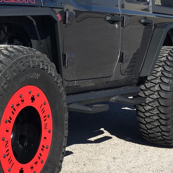 Iron Cross Jeep Wrangler JL 4 Door Sidearm Step Board