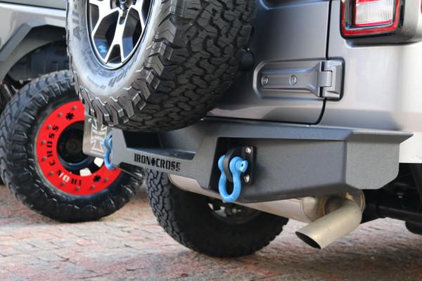 Iron Cross Jeep Wrangler JL Stubby Rear Base Bumper