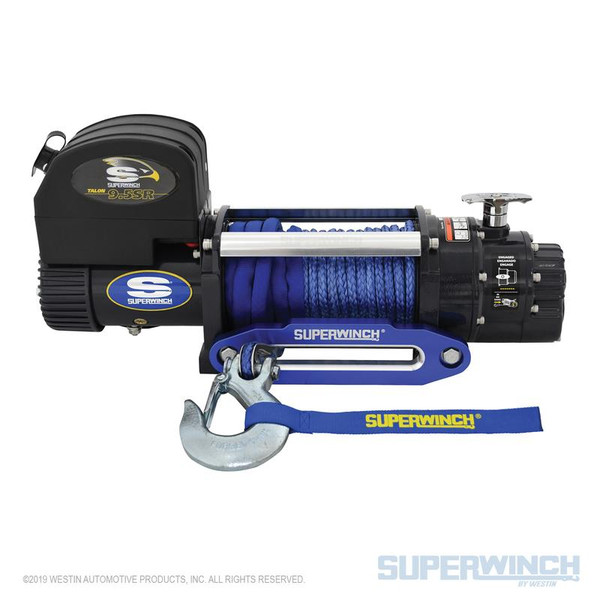 Superwinch Talon 9.5SR with Synthetic Rope