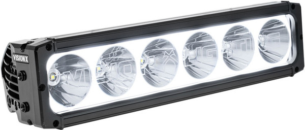 "Vision-X 12"" XPR-S Halo 10W Light Bar 6 LED Spot Optics For Xtreme Distance"